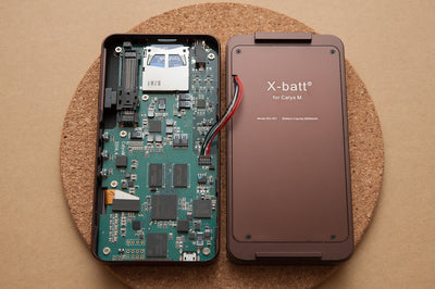 X-Batt Battery Extension Pack for Calyx M Portable High Resolution Music Player
