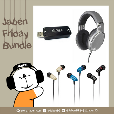 Jaben TGIF Friday $99 Bundle! Goldring DR-150 + Final Adagio II + GoVibe Mini U-DAC