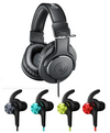 [Jaben Combo] Audio Technica ATH-M20x Headphones & 1More iBfree Wireless Earphones