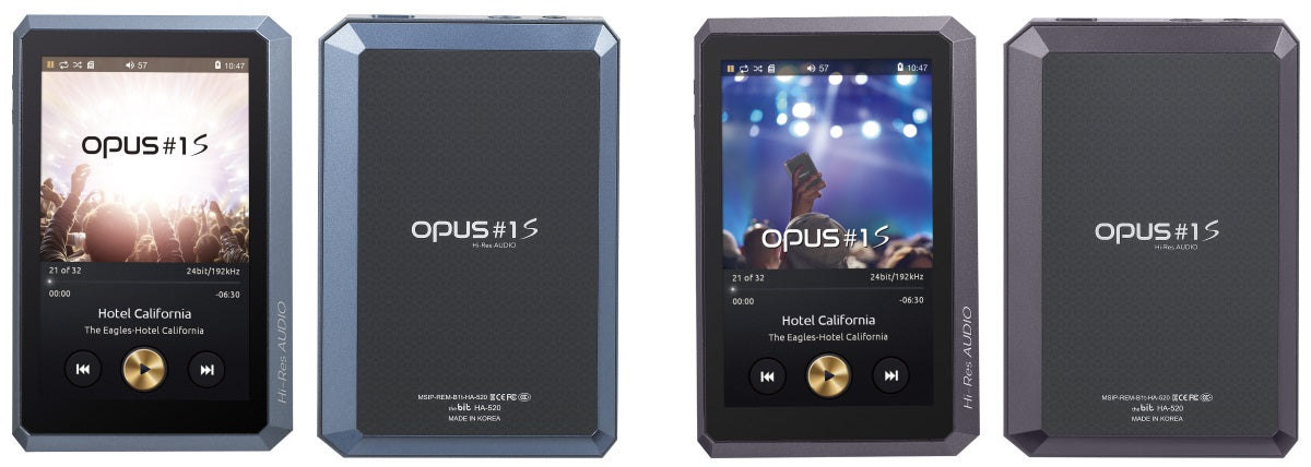 Opus #1s Mastering Quality Sound (MQS)Audio Player + Grado SR60E