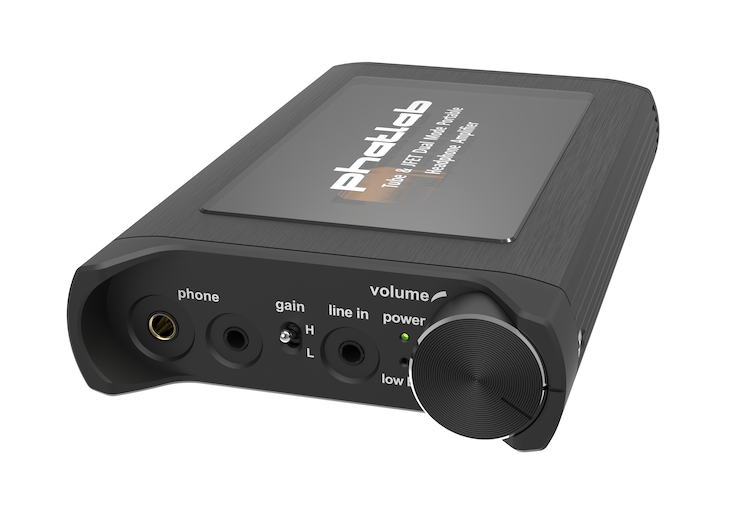 [Pre-Order] Phatlab Chimera Tube & JFET Dual Mode Hybrid Portable Headphone Amplifier