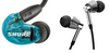 [Jaben Combo] Shure SE215 BT2 & 1More E1001 Triple Driver In-Ear Headphones