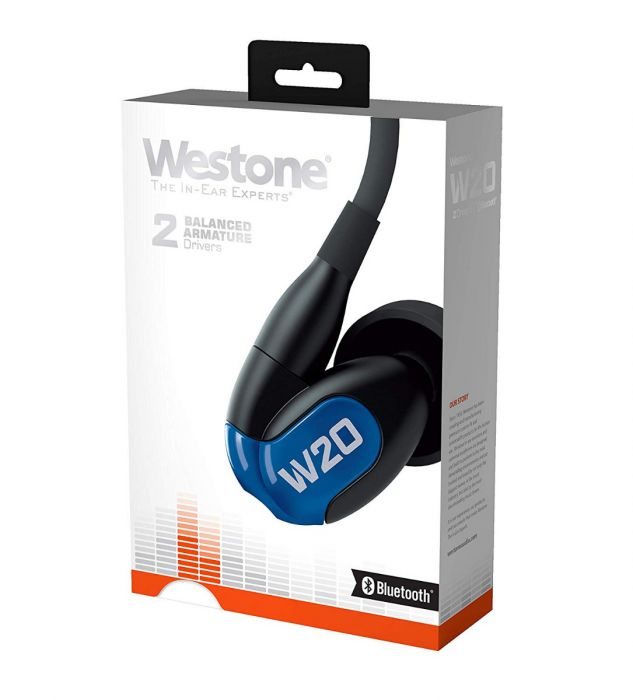 Westone W20 with Bluetooth Cable Dual Balanced-Amartuer Driver