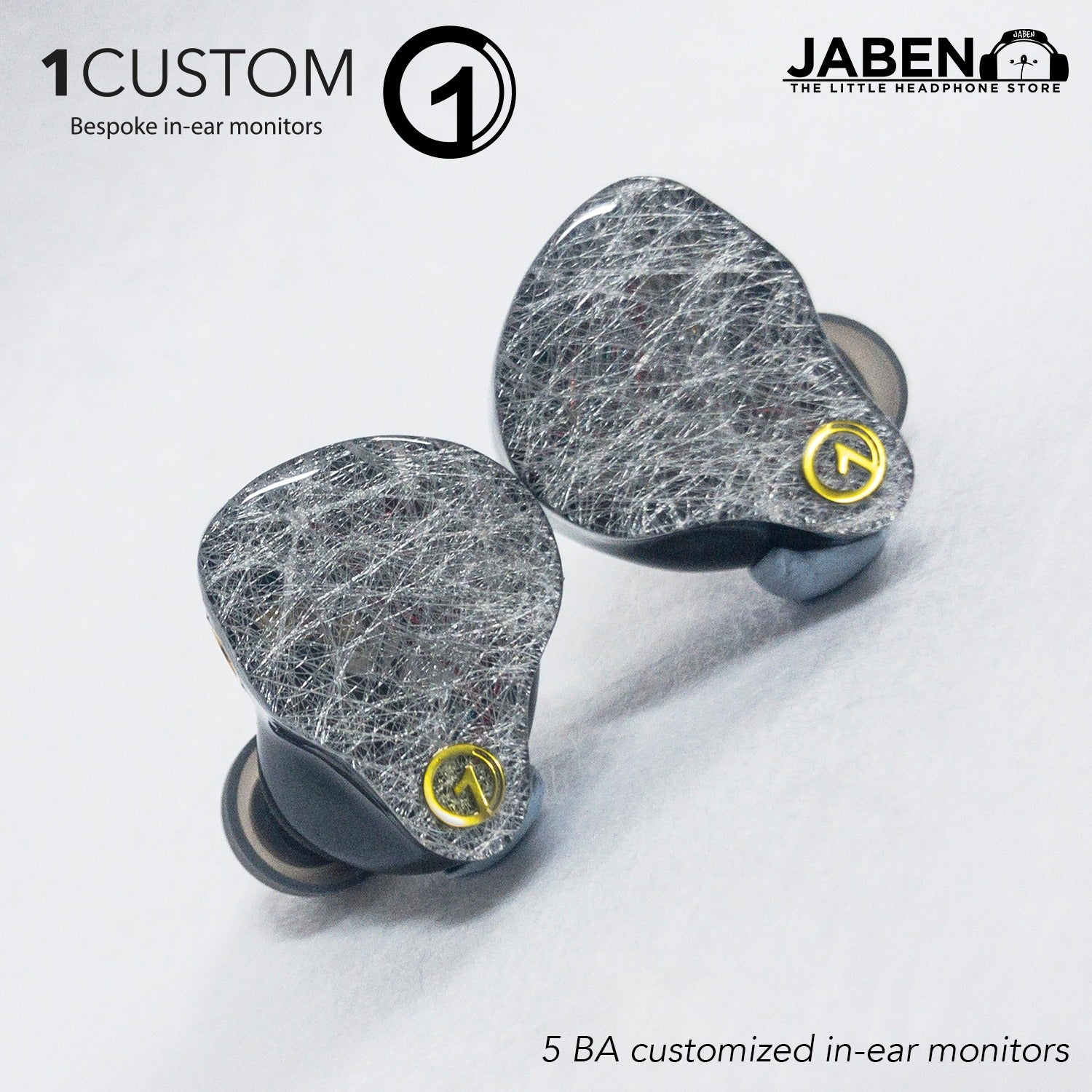 1Custom Model 5 Balanced Armature Custom In-Ear Monitor
