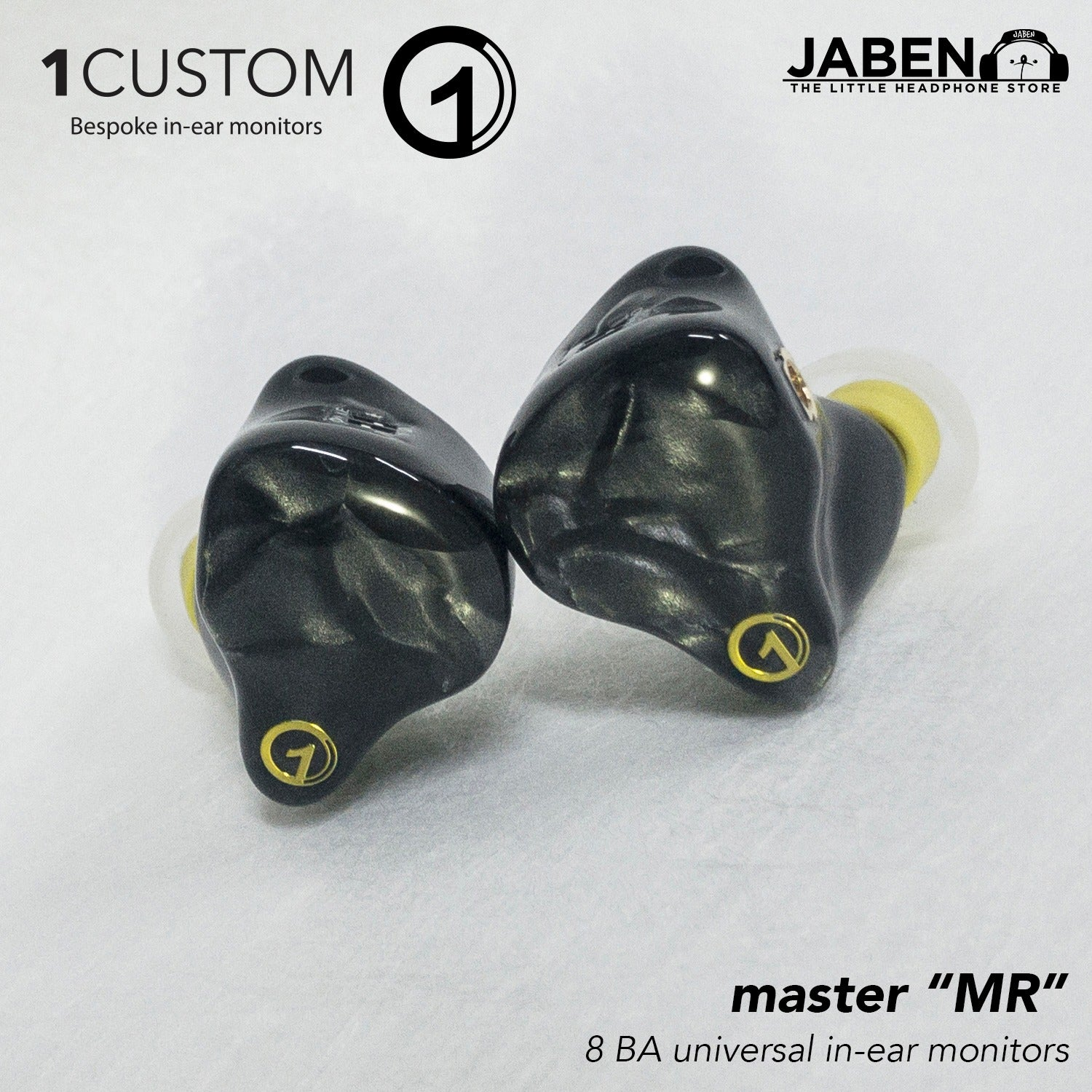 1Custom Master Eight Balanced Armature Universal In-Ear Monitor