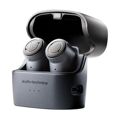 Audio Technica ATH-ANC300TW QuietPoint® Wireless Active Noise-Cancelling True Wireless Earbuds