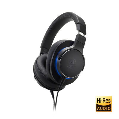 Audio Technica MSR7b Over-Ear High-Resolution Headphones