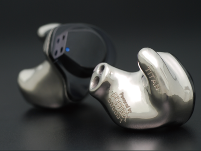 FitEar TITAN Customized In-Ear Monitor with Creator C108 Cable
