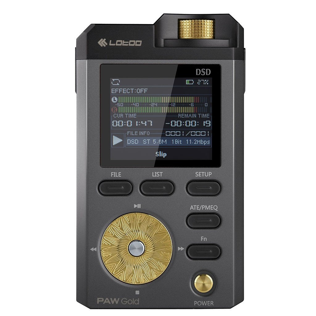 Lotoo PAW Gold Digital Audio Player Black (2017 Edition)