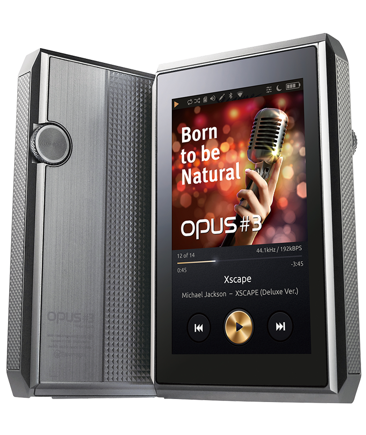 OPUS #3 Portable Mastering Quality Sound(MQS) Audio Player