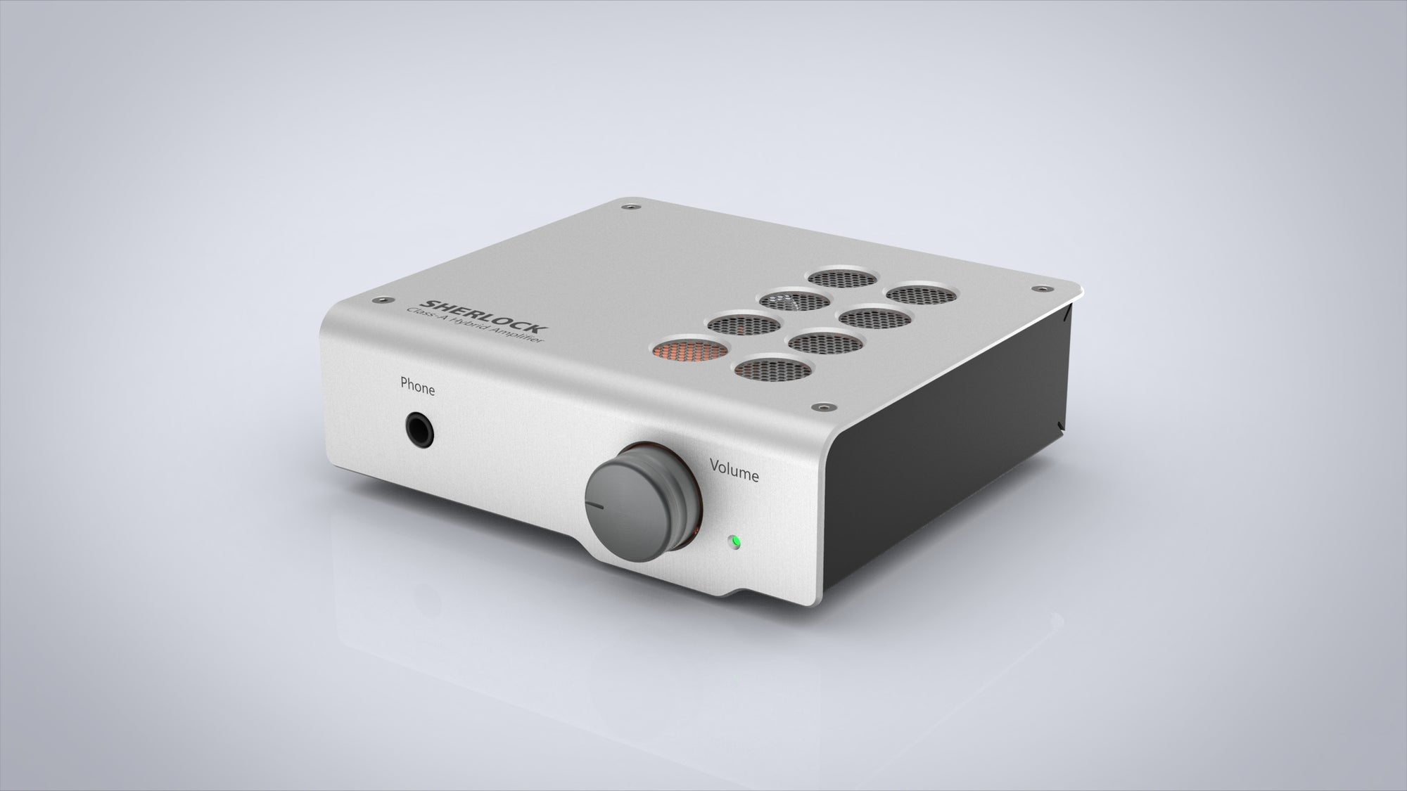 Elemental Sherlock Class-A Hybrid Tube Headphone Amplifier