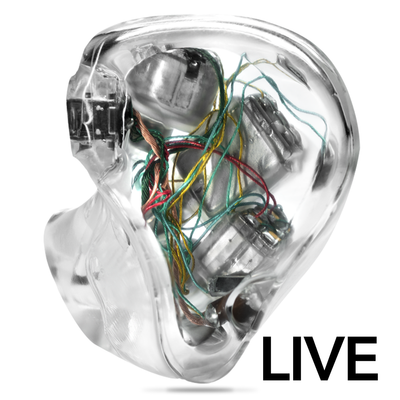 Ultimate Ears UE LIVE Custom In-ear Monitors
