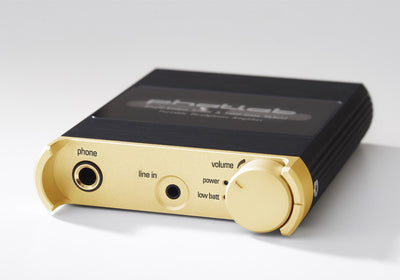 Phatlab Sassy GT Single-Ended Triode / Solid-State Hybrid Portable Headphone Amplifier