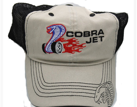 Cobra jet hat snap back mesh