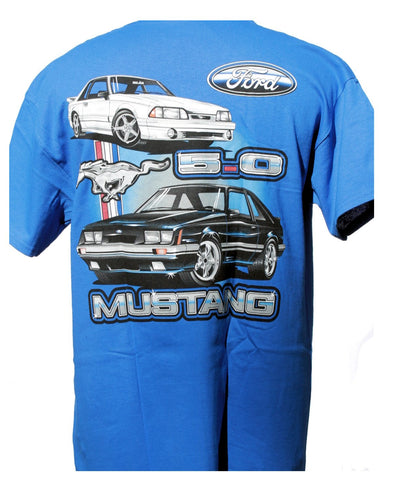 Ford mustang 5.0 fox body shirt in royal blue