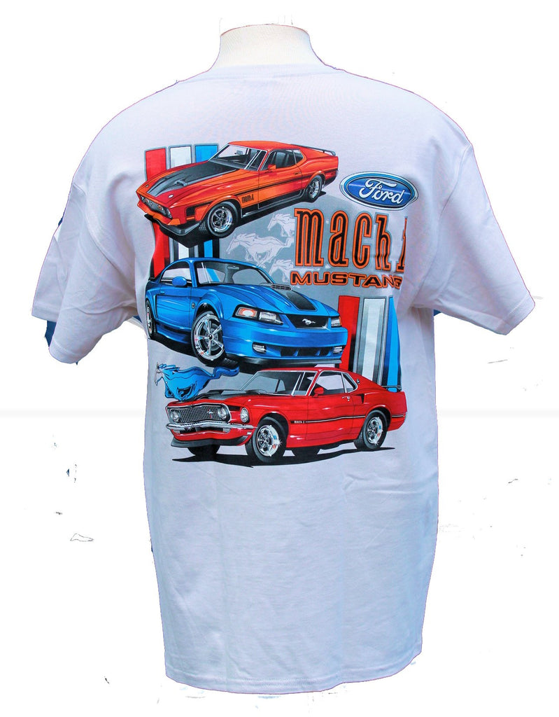 Ford mustang mach 1 shirt in grey