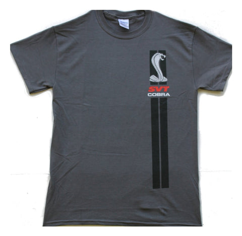 SVT Cobra two sided t shirt in charcoal