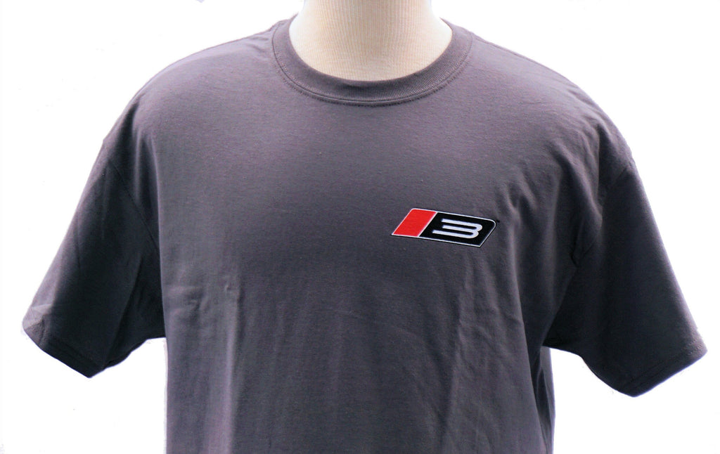 Roush Performance Stage 3 two-sided charcoal t shirt