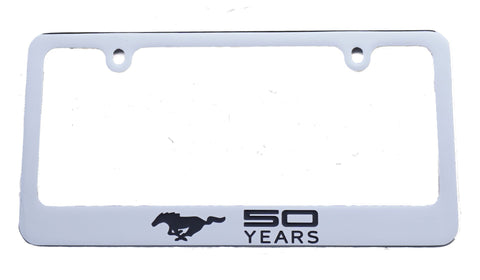 "Ford Mustang ""50 Years"" license plate frame"