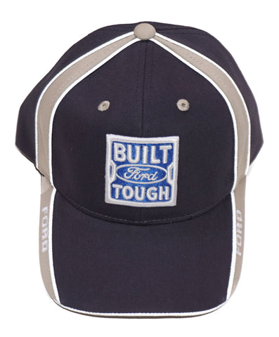 Built ford tough navy blue hat