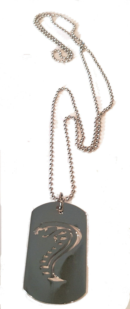 Mustang cobra dog tag