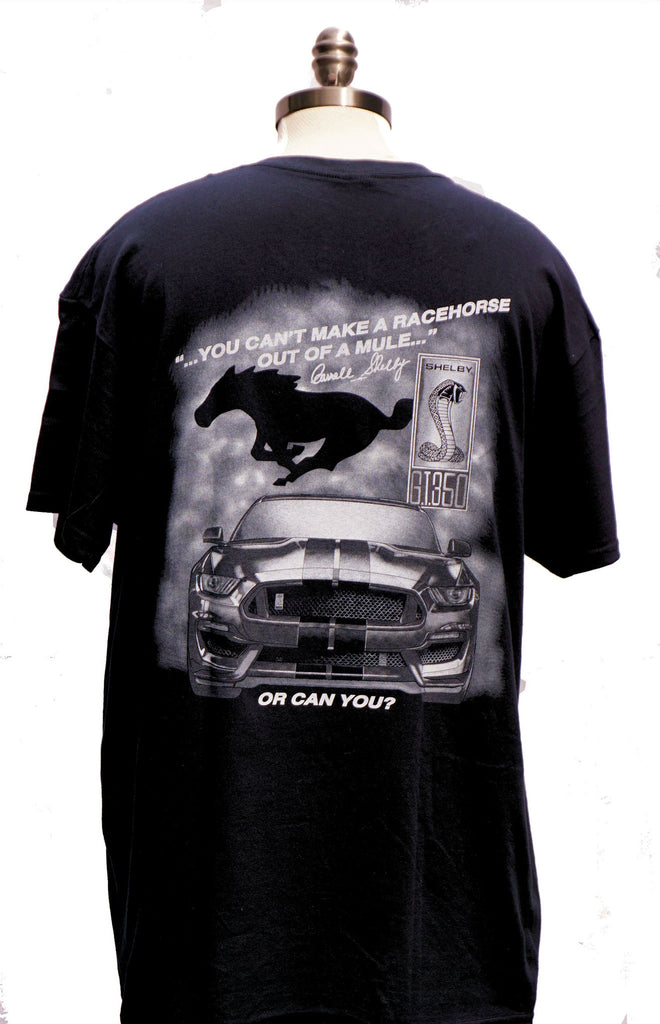Shelby GT 350 two sided black shirt
