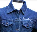 Ladies Rhinestone Denim Jacket sold exclusively here (ON SALE)