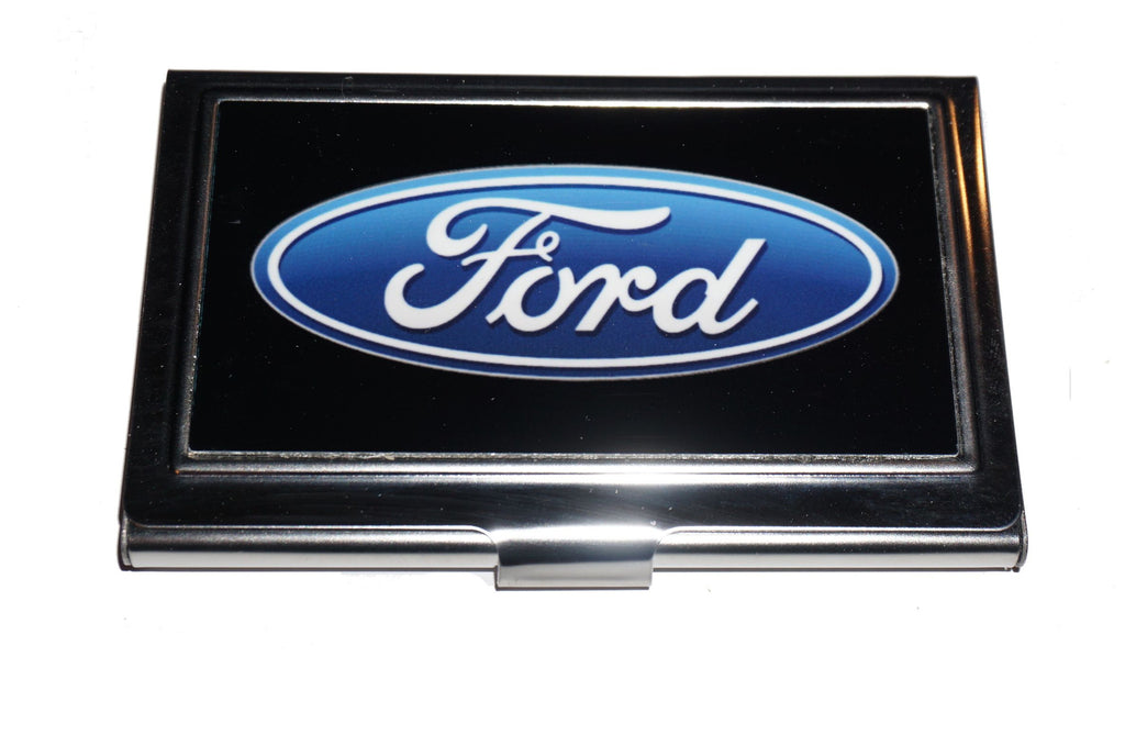 Ford oval business card holder