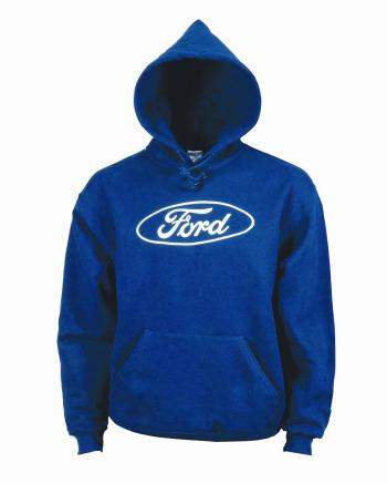 Ford Oval royal blue hoodie