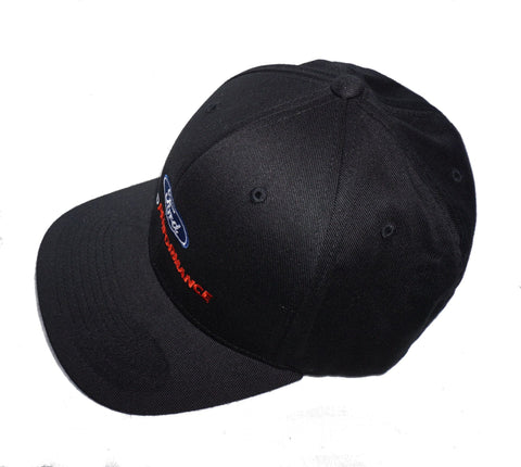 Ford Performance flex fit hat in black 2 different sizes
