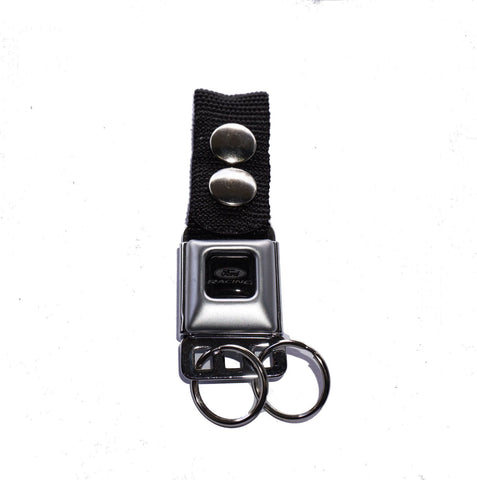 Ford racing seat belt keychain