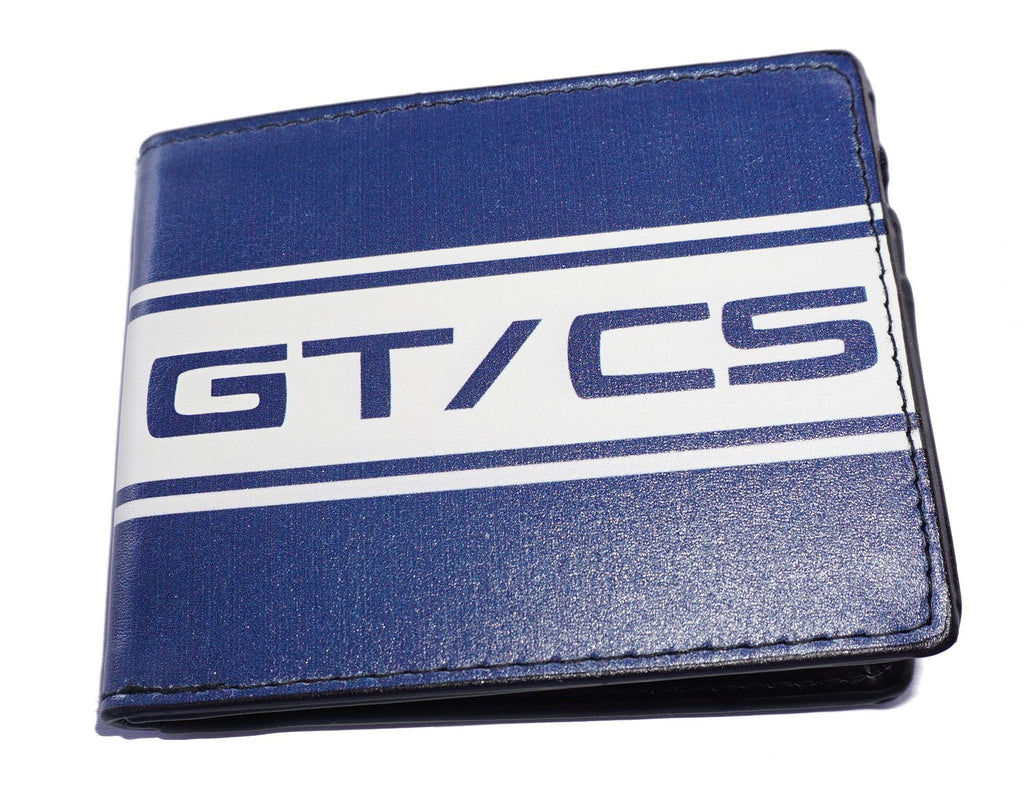 Ford Mustang GT/CS wallet in blue