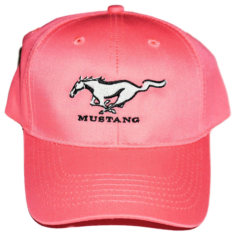 Ford Mustang kid's pink hat