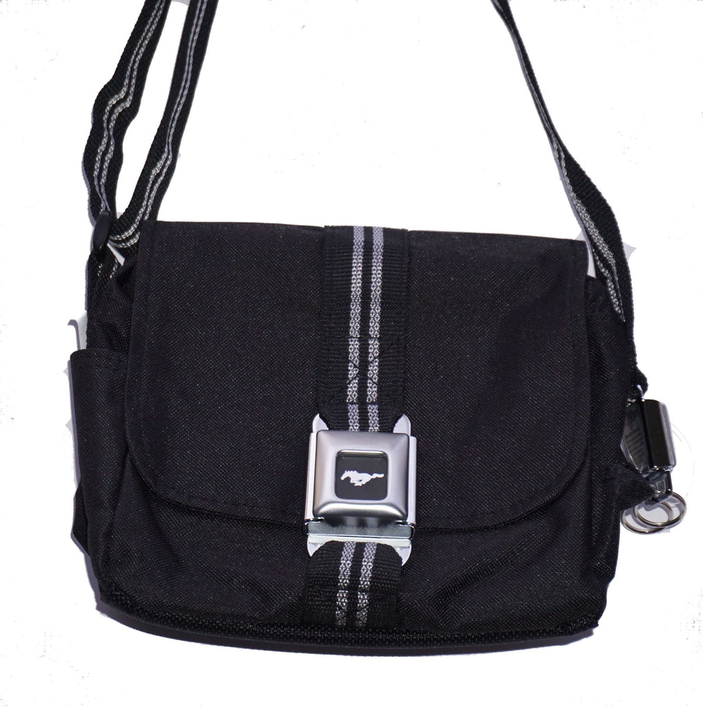 Ford Mustang purse/camera bag in black