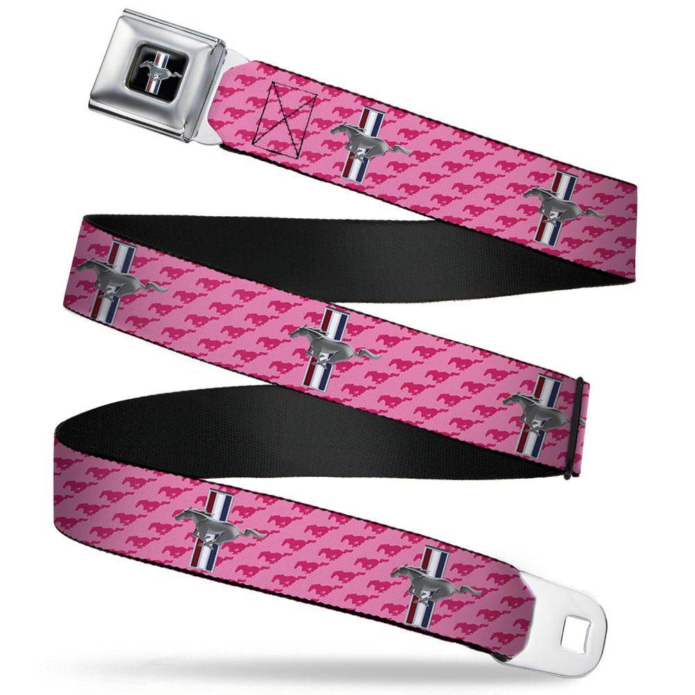 Ford Mustang seat belt belt in pink