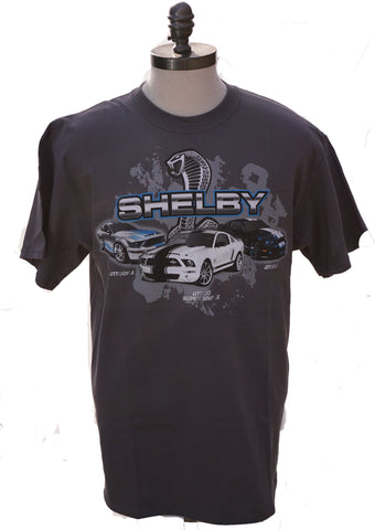 Shelby GT500, KR, Supersnake shirt in grey