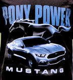 Ford Mustang Pony Power black shirt