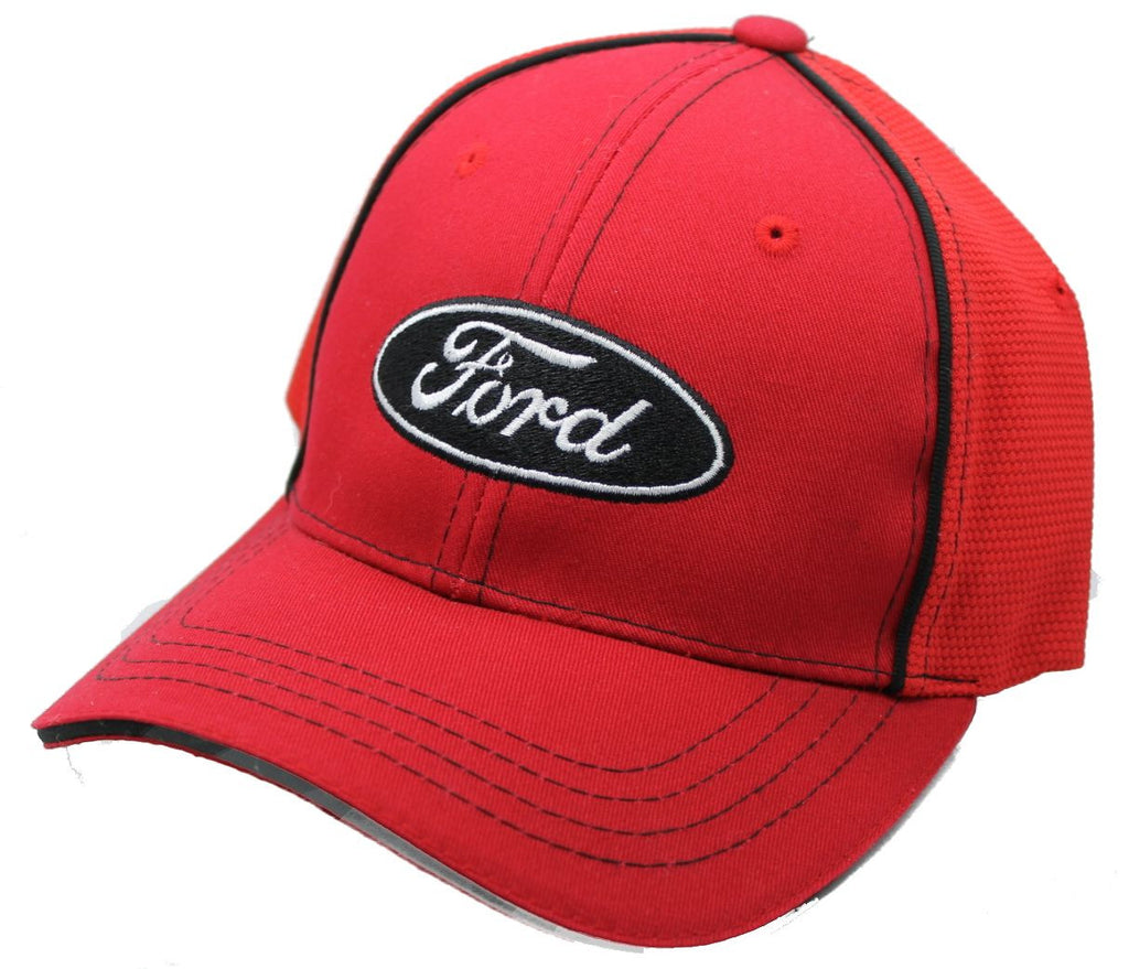 Ford Flex fit hat with ford logo in red