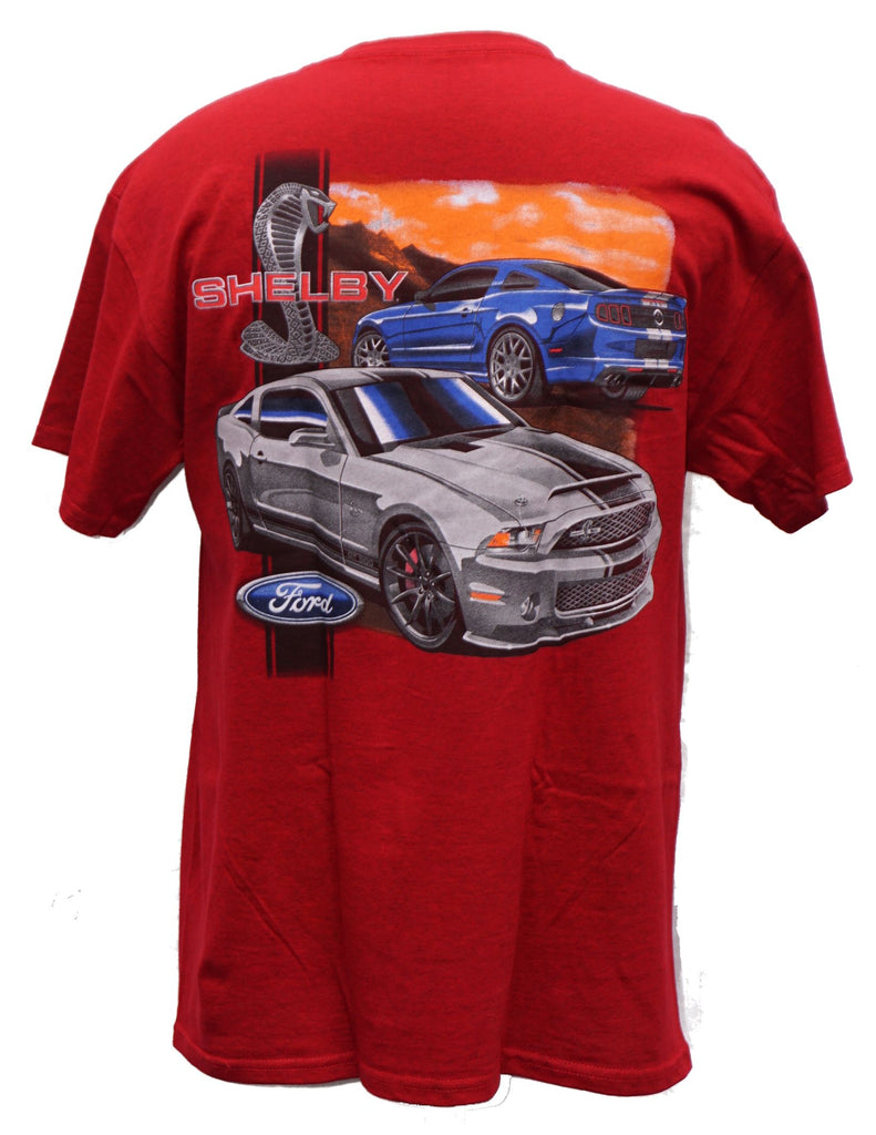 Shelby Super Snake shirt in red