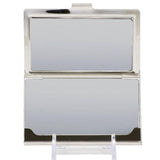 Ford Mustang business card holder with tri bar logo in silver