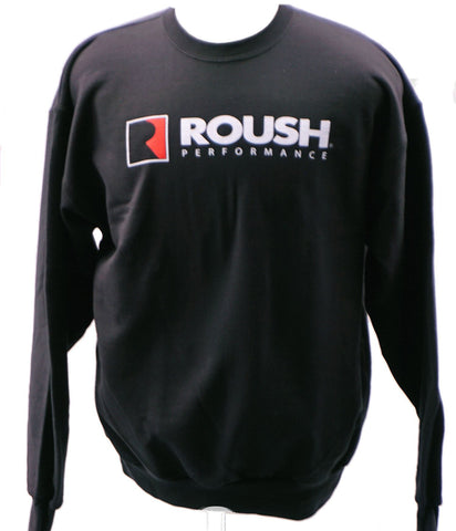 Roush Performance black crewneck sweatshirt