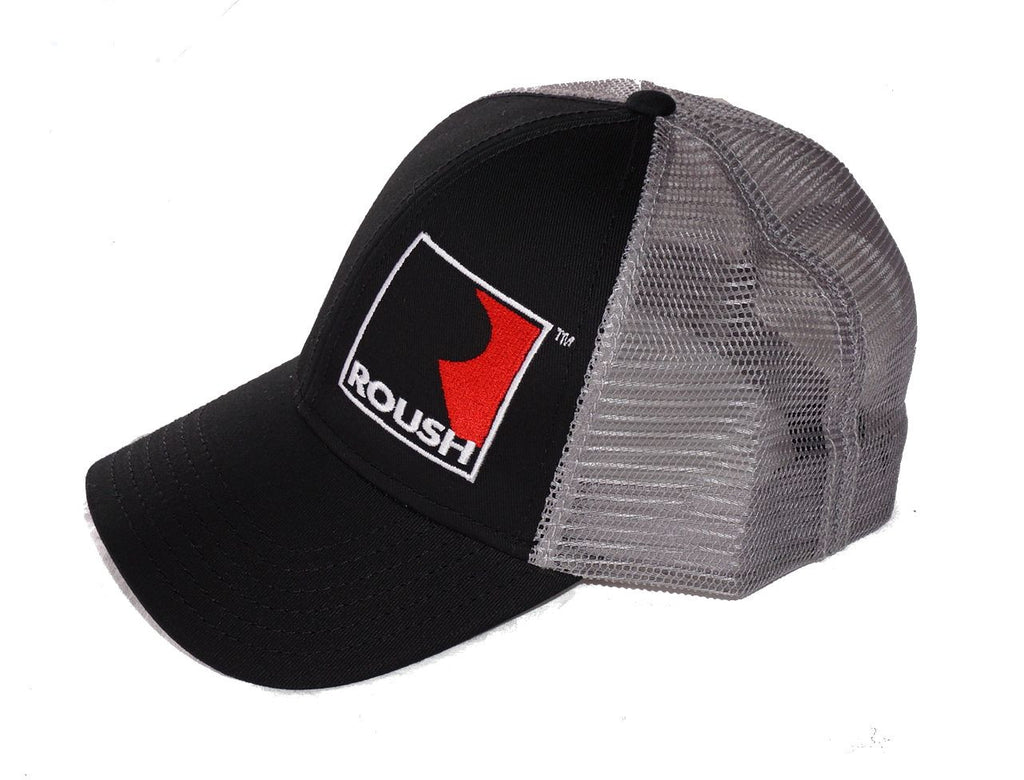 Roush Performance black hat with light gray mesh back