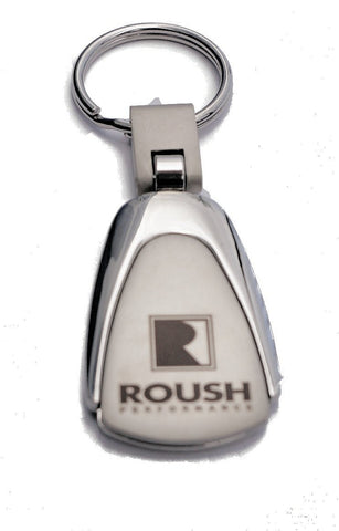 Roush Performance teardrop keychain