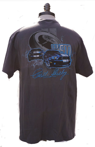 Shelby GT500  t shirt in grey (2 car)