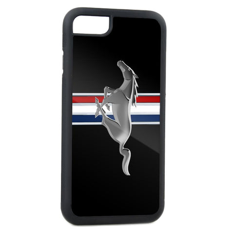"Ford Mustang ""Tri-Bar"" style logo phone cover for Samsung Galaxy S-6"