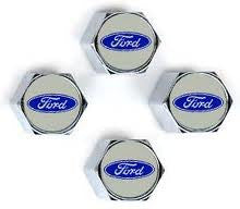 Ford  blue valve stem caps