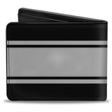 Ford mustang black GT/CS textured Saffiano leather wallet