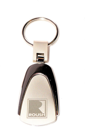 "Roush Big ""R"" teardrop keychain"