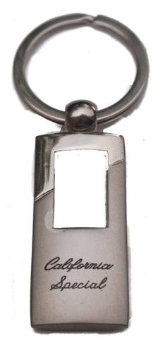 Ford mustang california special rectangle keychain