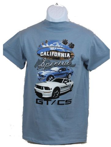 Ford Mustang GTCS California Special t shirt in blue